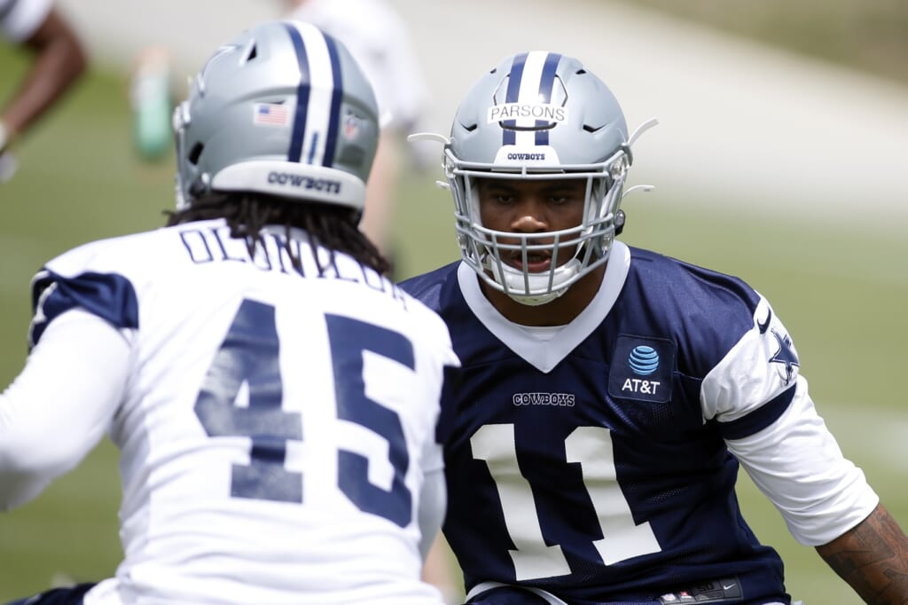Dallas Cowboys' designs for Micah Parsons set him up for early success