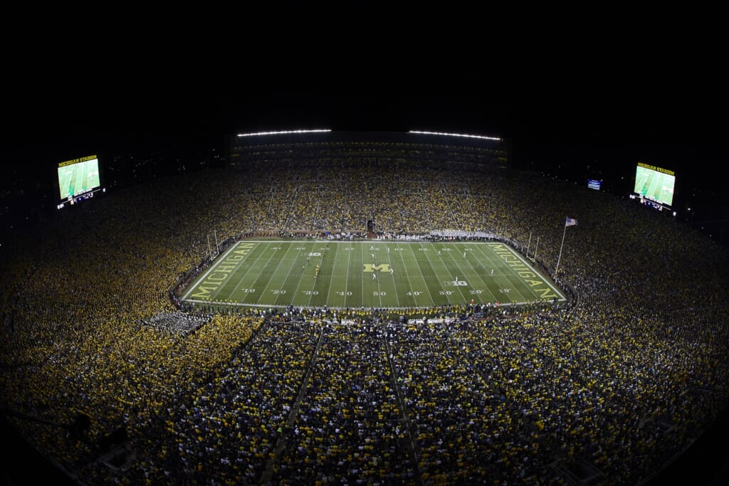 Best college football stadiums: Michigan Stadium, Michigan Wolverines