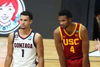 NCAA krepšinis: NCAA turnyras-USC - Gonzaga