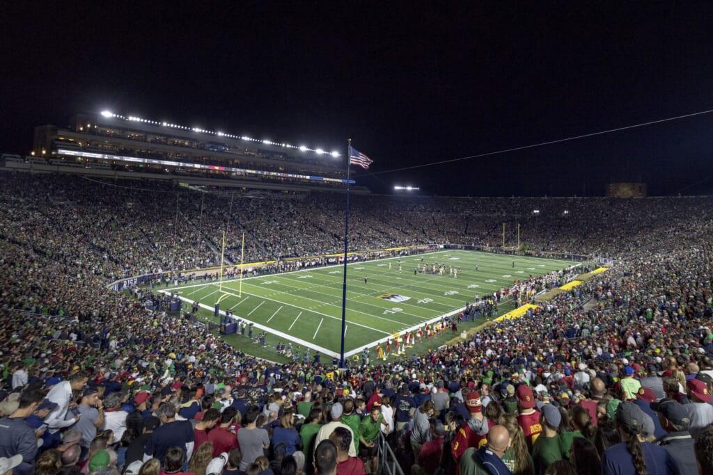 Best college football stadiums: Notre Dame Stadium, Notre Dame Fighting Irish