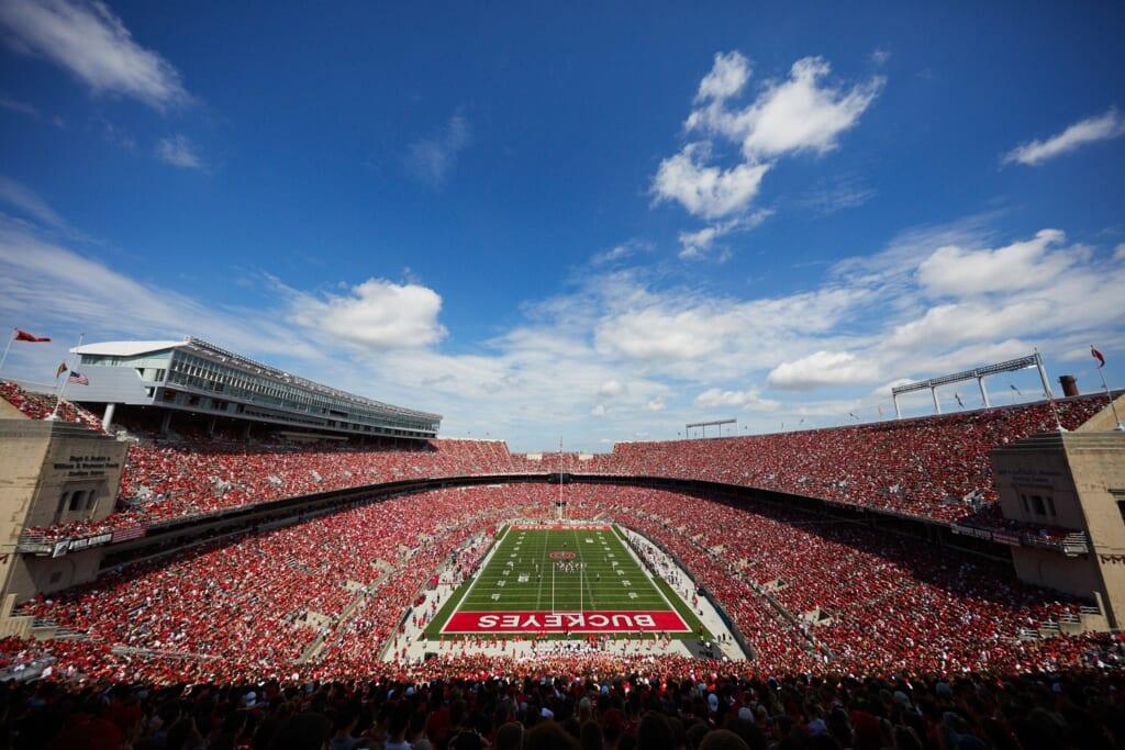 Best college football stadiums: Ohio Stadium, Ohio State Buckeyes