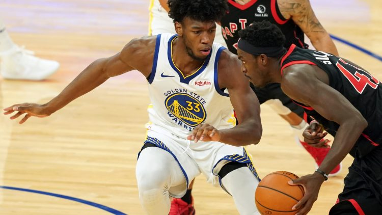 pascal siakam trade to the golden state warriors for james wiseman