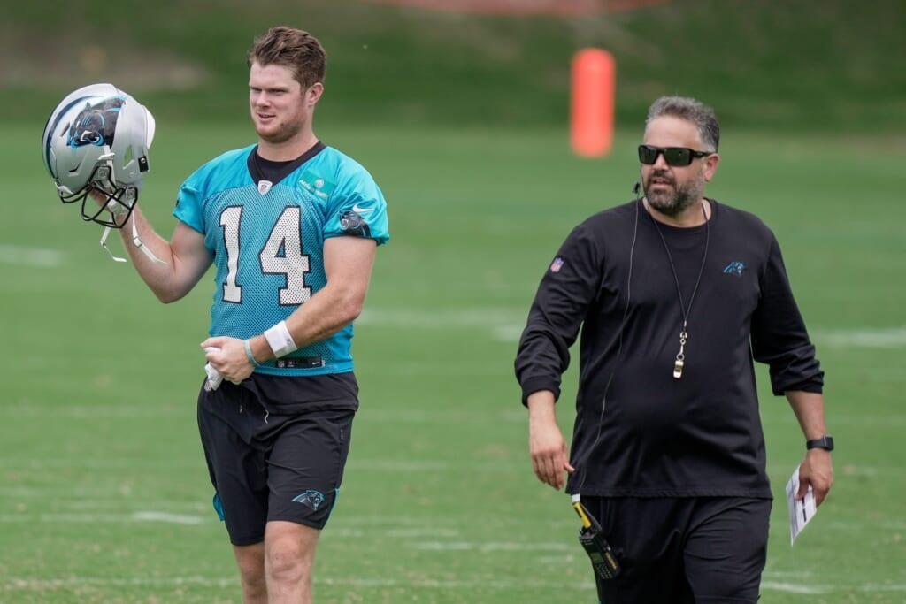 Derek Carr to Carolina Panthers
