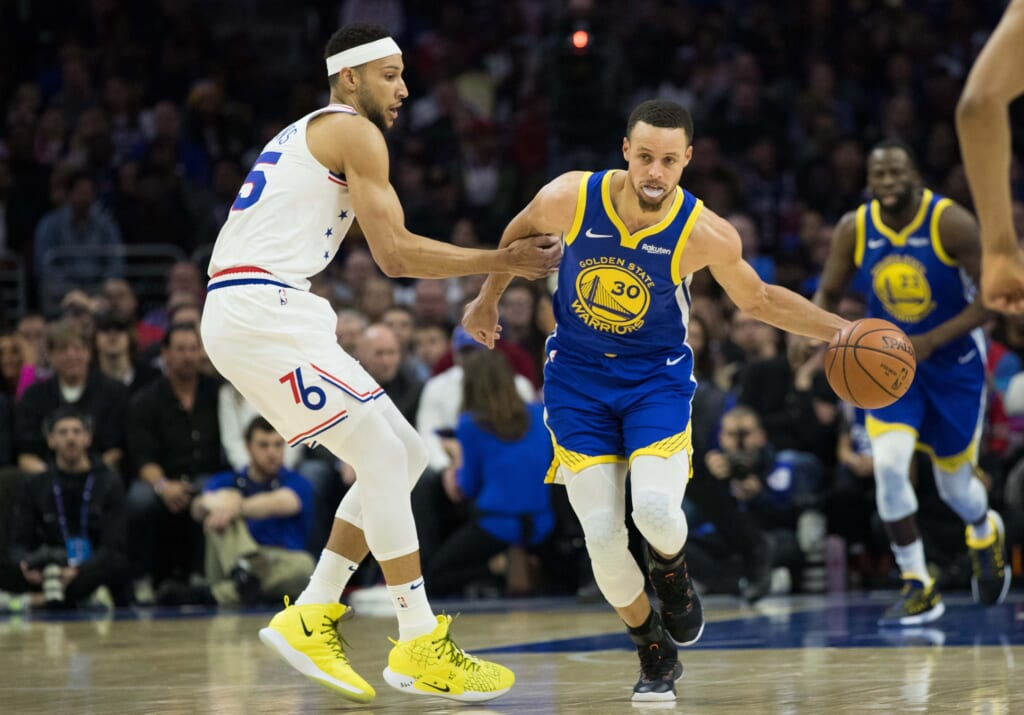 Stephen Curry to 76ers in blockbuster 5-player trade