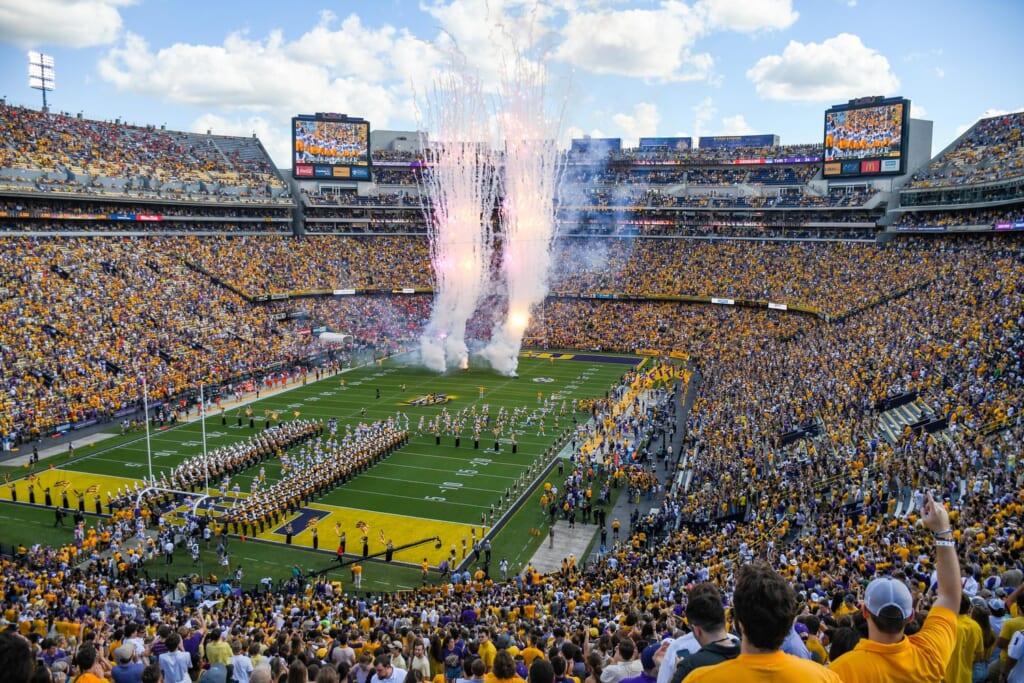 Best college football stadiums: Tiger Stadium, LSU Tigers