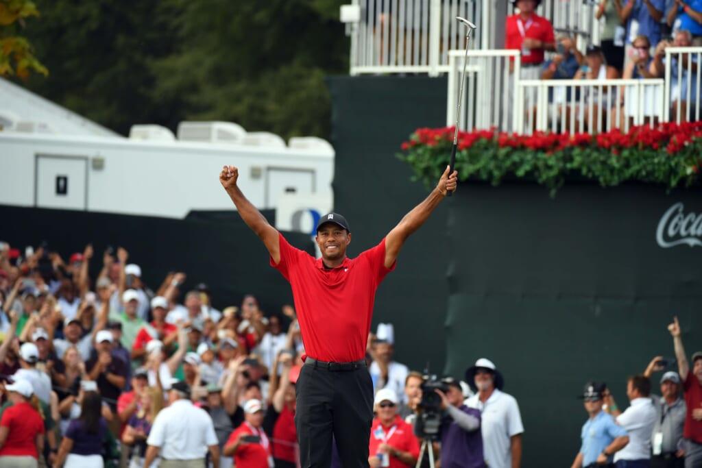 T1. Tiger Woods & Sam Snead, 82 PGA Tour wins