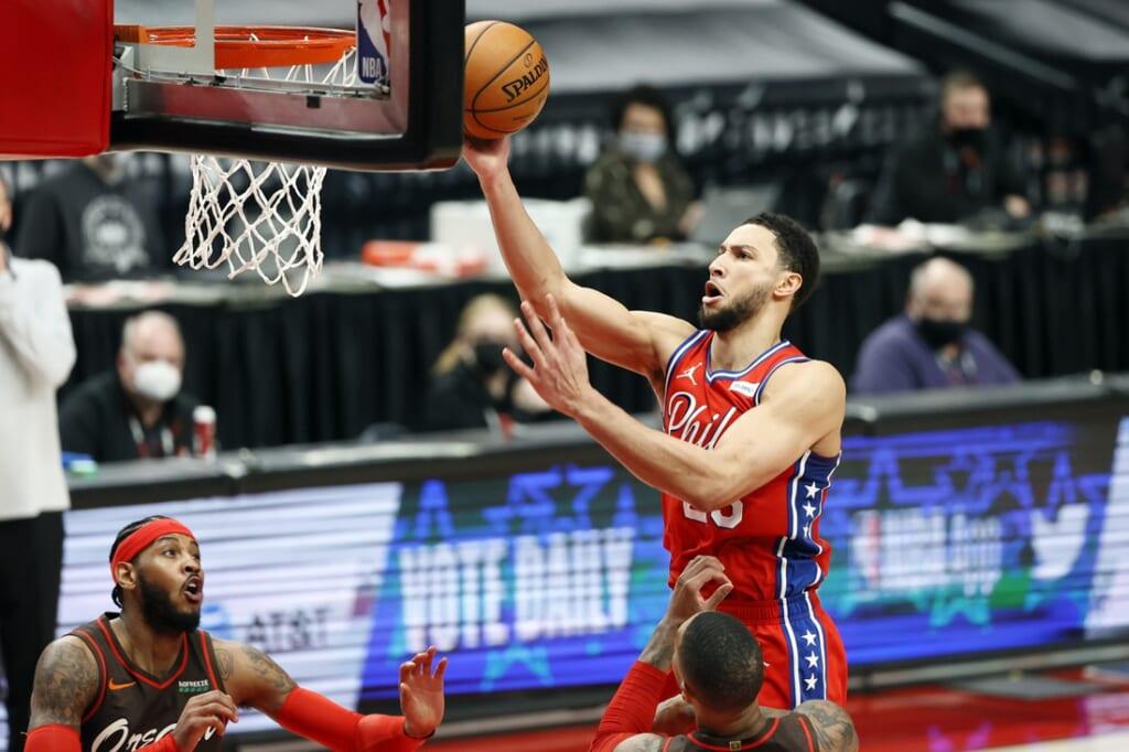 NBA trade scenarios, Ben Simmons