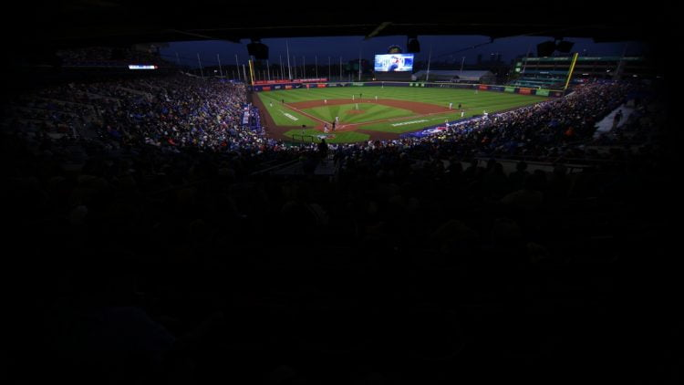 Jul 16, 2021; Buffalo, New York, USA;  A general view of Sahlen Field during a game between the Toronto Blue Jays and the Texas Rangers. Mandatory Credit: Timothy T. Ludwig-USA TODAY Sports