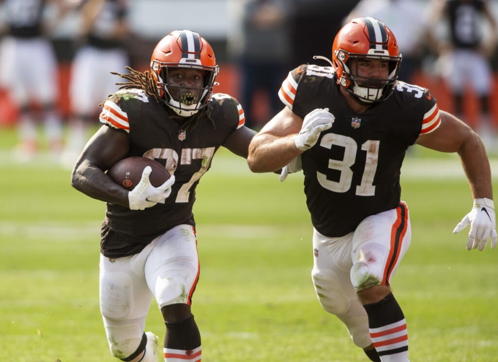 Ranking the top fullbacks in the NFL today