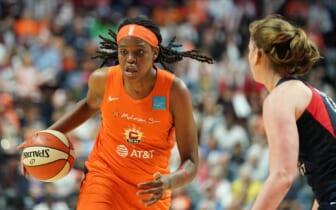 WNBA MVP, Jonquel Jones