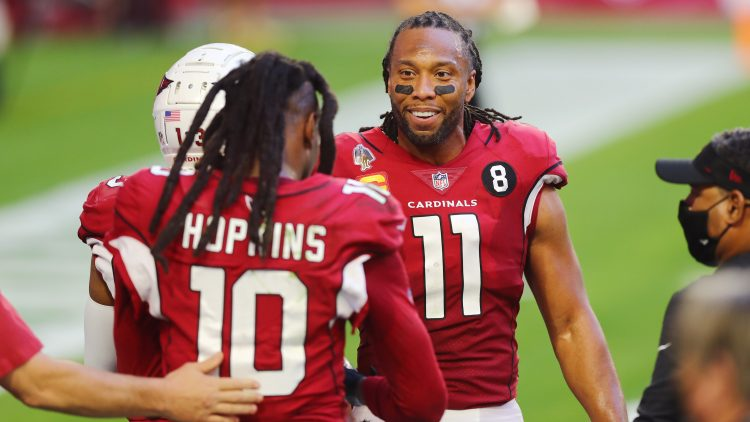 could larry fitzgerald or deandre hopkins break jerry rice's records?