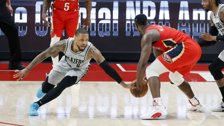 damian lillard trade to the new orleans pelicans