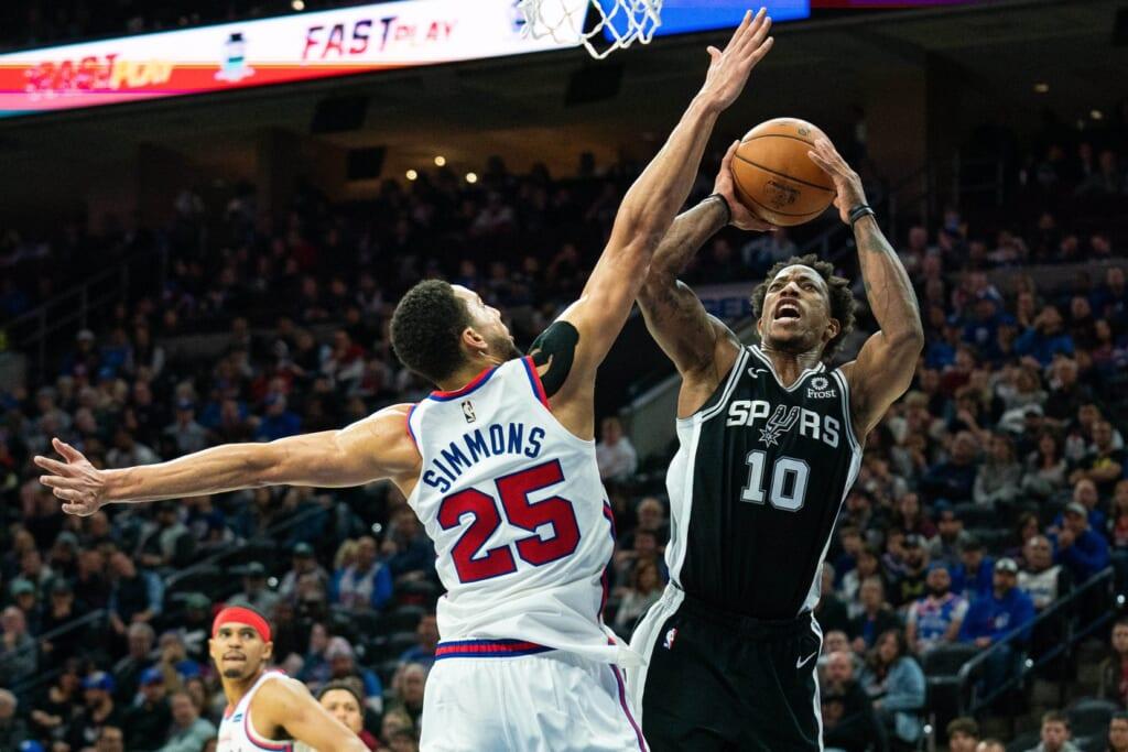 Philadelphia 76ers land DeMar DeRozan in Ben Simmons blockbuster