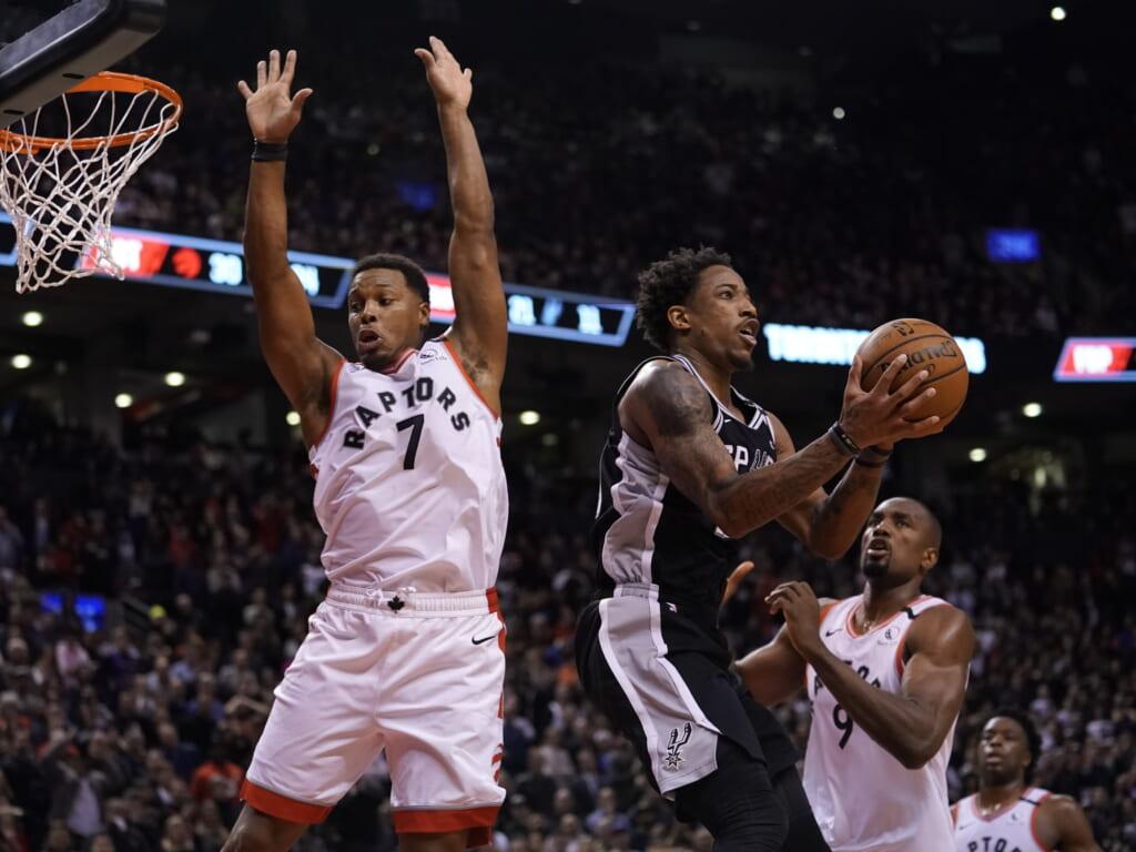 DeMar DeRozan runs it back with Toronto Raptors