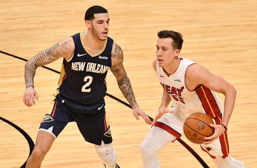 Miami Heat land Lonzo Ball in blockbuster trade of young talent