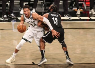 James Harden blasted for Giannis criticism after Bucks' NBA Finals win