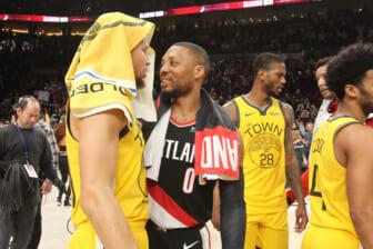 Blazers-Damian-Lillard-Warriors-Stephen-Curry