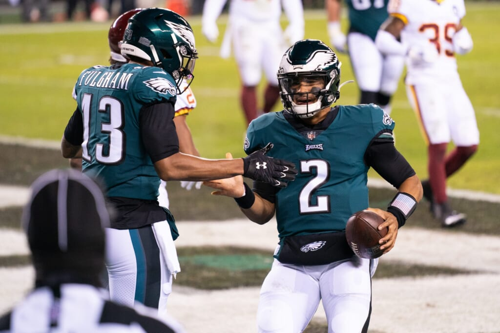 Philadelphia Eagles positioned Jalen Hurts to fail, but he's built to handle it