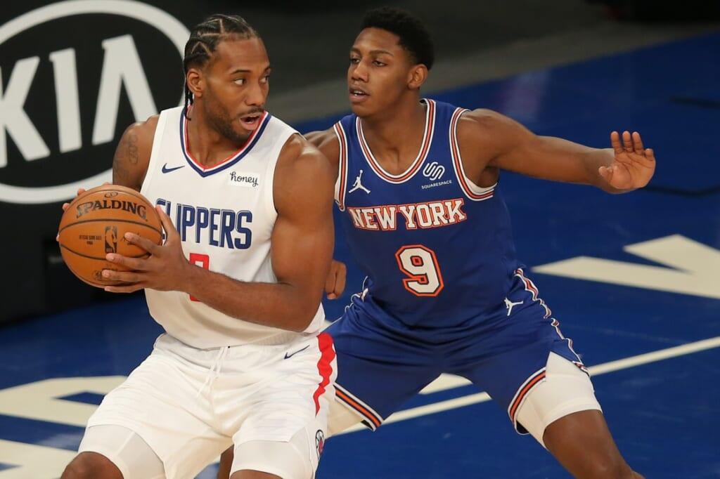 New York Knicks get a mega star in wild 4-team Kawhi Leonard blockbuster