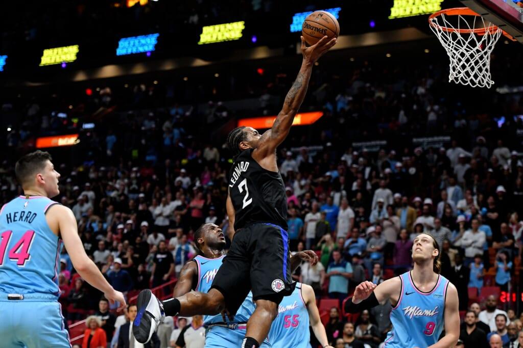 Kawhi Leonard joins Jimmy Butler on Miami Heat