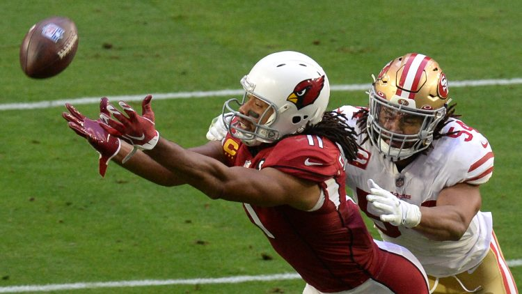 larry fitzgerald signs with the san francisco 49ers