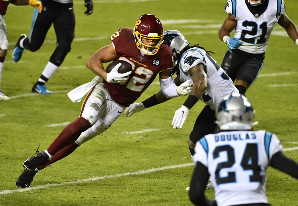 Logan Thomas is just realizing his potential in growing Washington Football Team offense