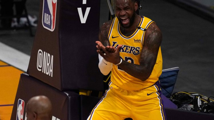 los angeles lakers' lebron games