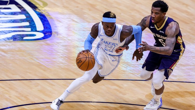 los angeles lakers trade dennis schroder to the new orleans pelicans