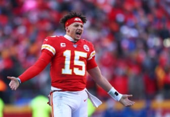 Patrick Mahomes says Justin Herbert dig was taken out of context