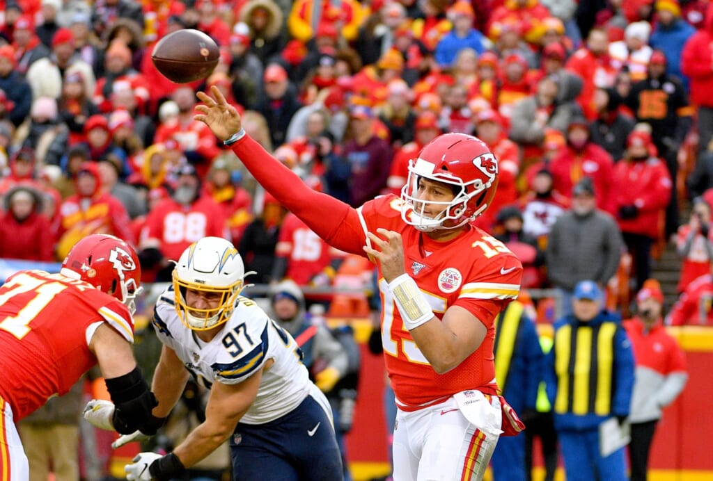 NFL rankings by division: AFC West