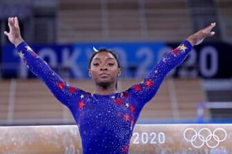 Simone Biles out of Team USA gymnastics final, coach cites 'mental issue' as reason