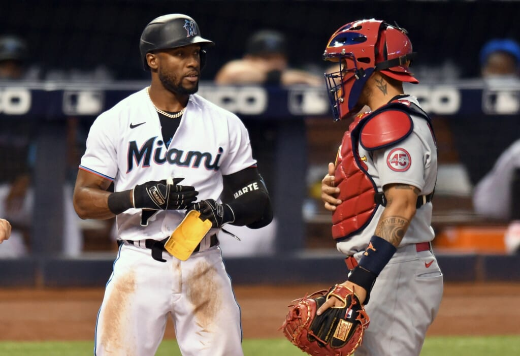 2. St. Louis Cardinals trade for an outfield enhancement in Starling Marte