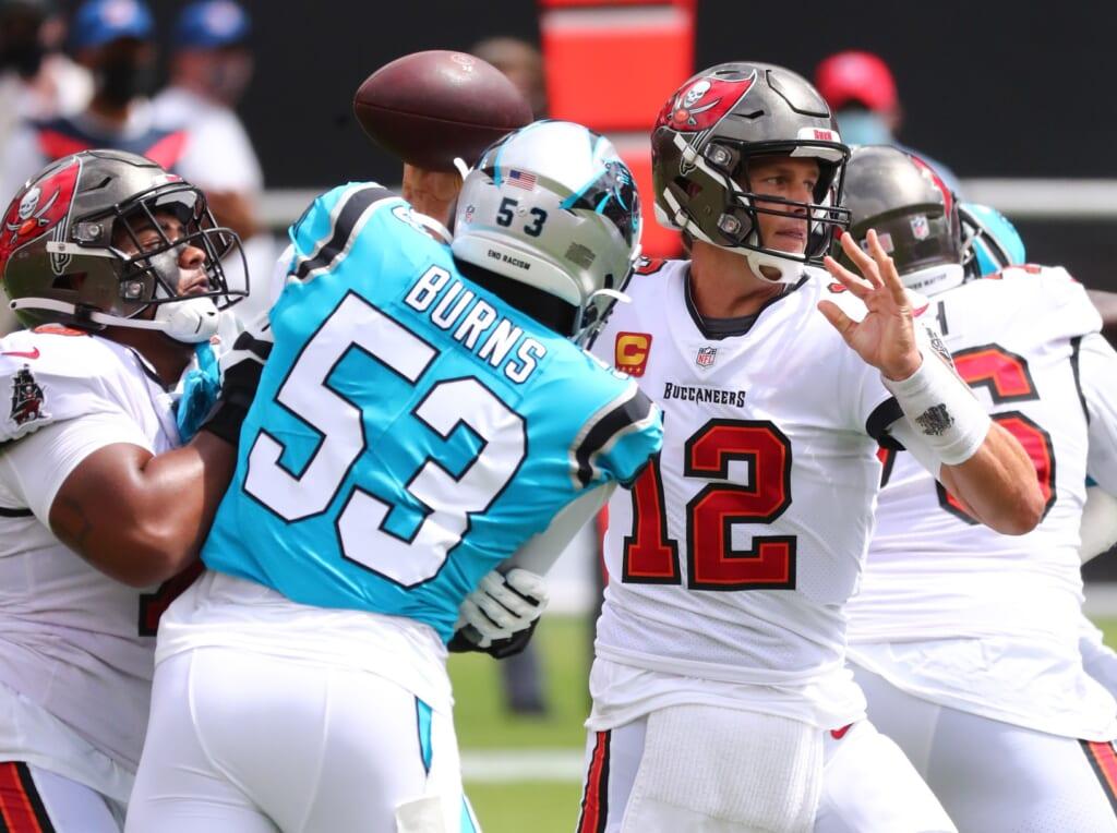 4. Carolina Panthers' pass rush will be fierce