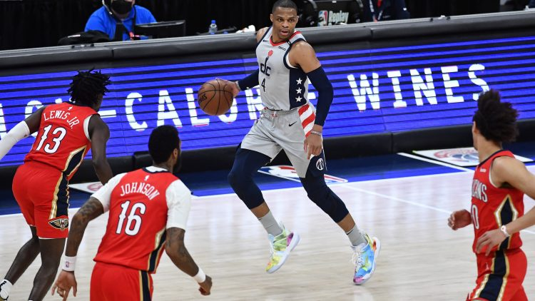 washington wizards trade russell westbrook to the new orleans pelicans