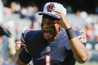 Bears vs Titans, Justin Fields