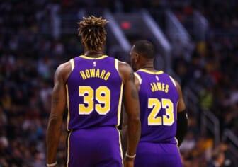 Dwight Howard, LeBron James Los Angeles Lakers