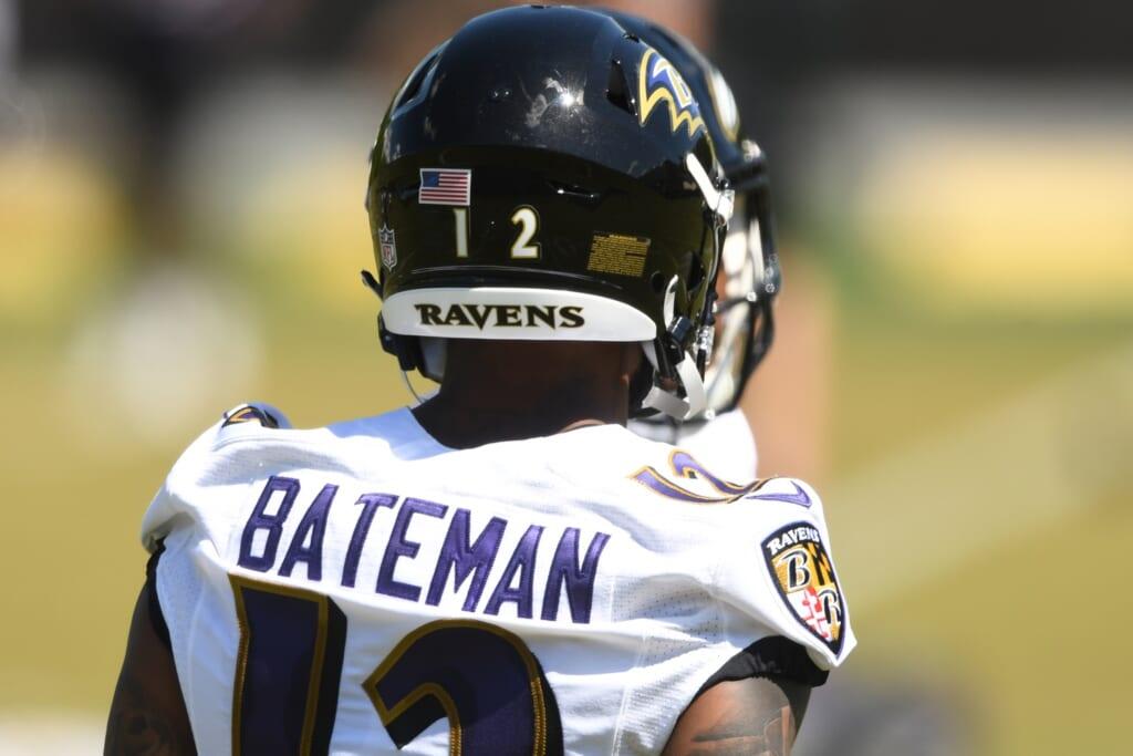 Rashod Bateman, Baltimore Ravens