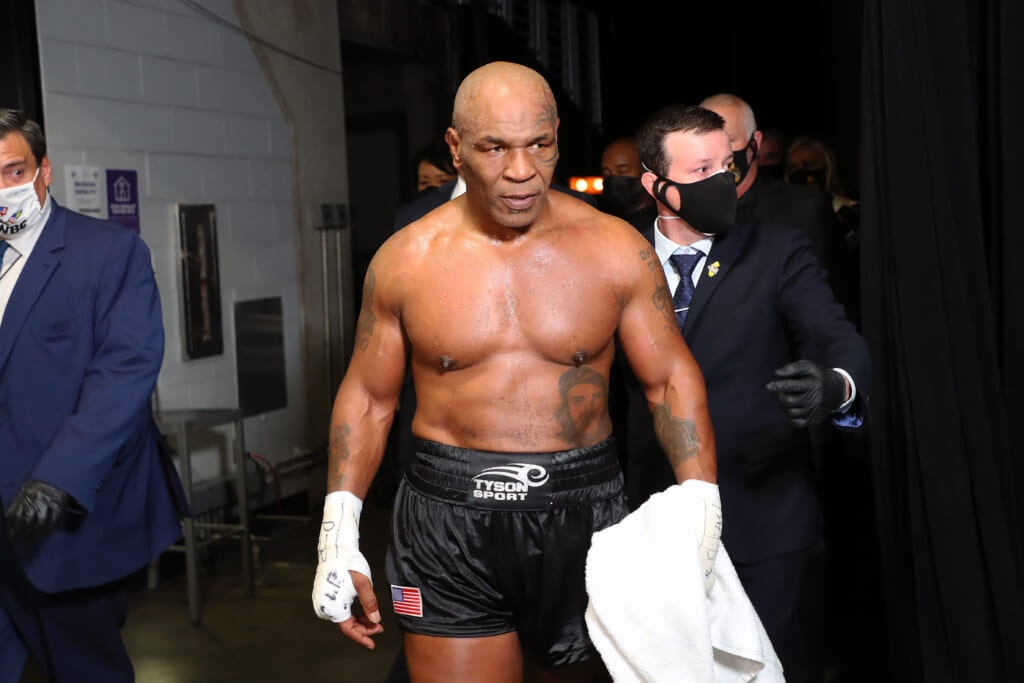 mike tyson's next fight