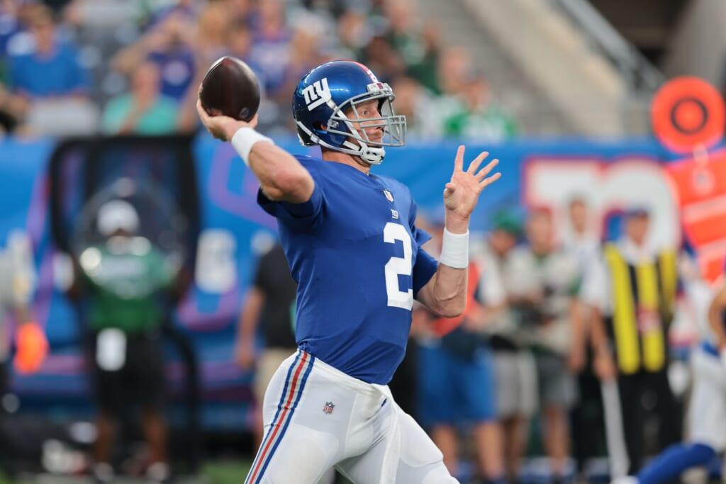 New York Giants, Mike Glennon