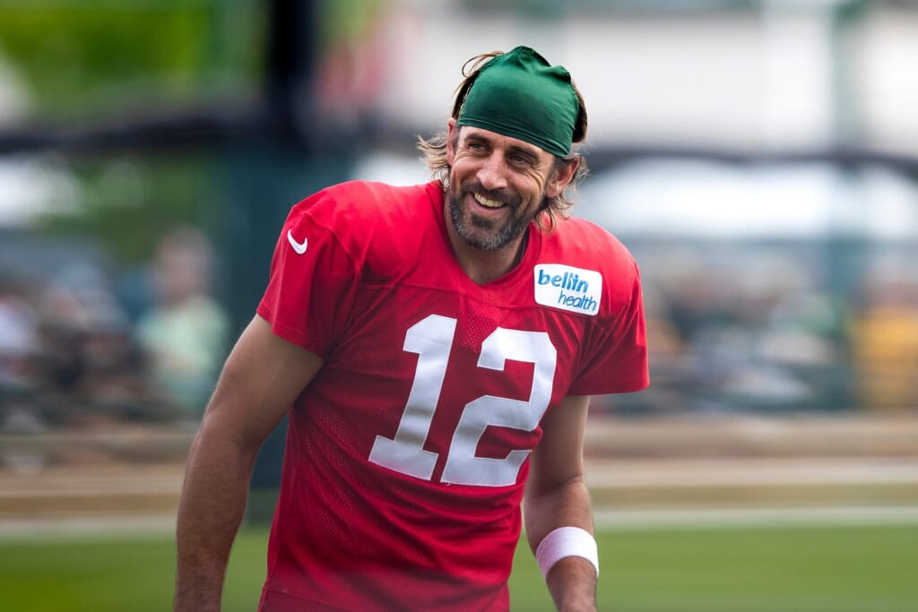 Green Bay Packers QB Aaron Rodgers labels 2021 'championship or disappointment'