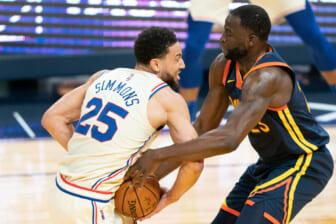 Ben Simmons trade Golden State Warriors