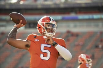 Clemson tops Alabama, Ohio State in College Football Playoff betting odds