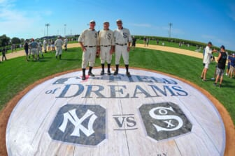 WATCH: Yankees-White Sox 'Field of Dreams' matchup stages epic pregame show