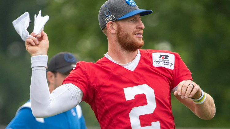 indianapolis colts super bowl odds, carson wentz injury
