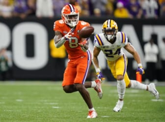 Clemson wide receiver Justyn Ross cleared to play after spinal injury