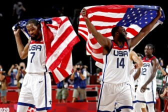 Kevin Durant, Draymond Green blast bad Gregg Popovich takes after Team USA wins gold medal