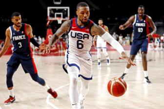 Olympics: Basketball-Men Finals - Gold Medal Match