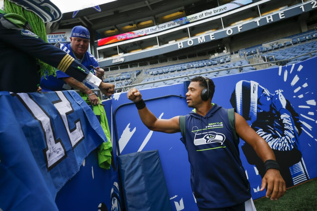 Seattle Seahawks acquire Cam Newton as Russell Wilson insurance policy