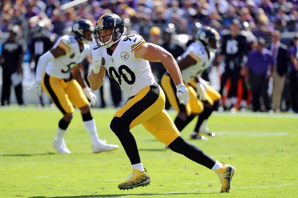 Pittsburgh Steelers' T.J. Watt contract extension