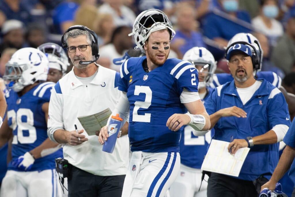 Rams vs Colts, Carson Wentz